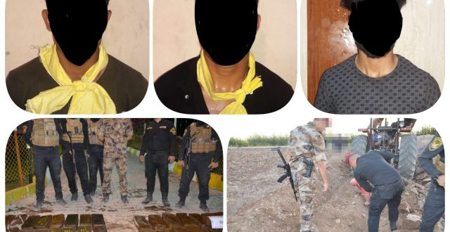 القبض على 3 ارهابيين وضبط كدس للعتاد في قضاء الحويجة