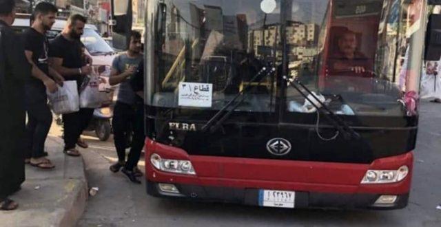 وزارة النقل تبدأ التفويج العكسي للزائرين