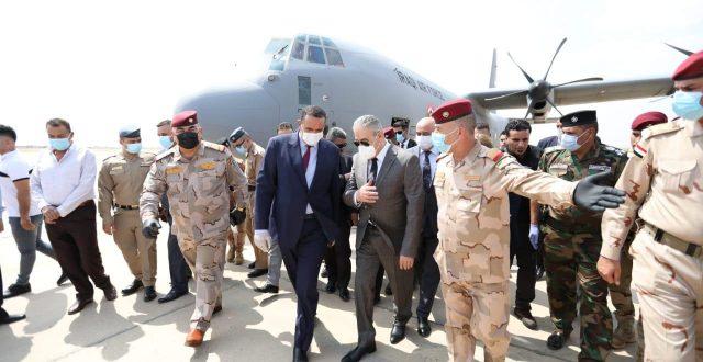 رئيس جهاز الامن الوطني عبد الغني الاسدي يصل محافظة كركوك