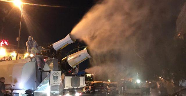 امانة بغداد تعلن امتلاكها اسطولاً من الآليات المختصة بالتعفير