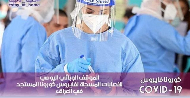 كرونا العراق:2307حالة شفاء و74حالة وفاة