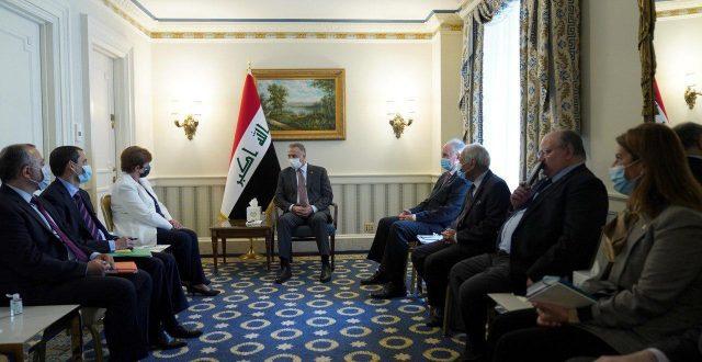 الكاظمي يلتقي في واشنطن مدير عام صندوق النقد الدولي