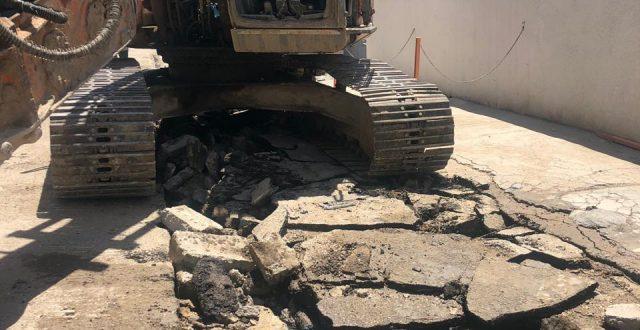 امانة بغداد : المباشرة باصلاح التخسف الـ 50