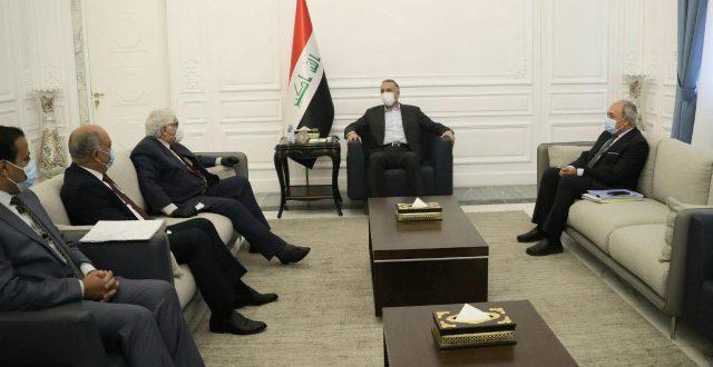 الكاظمي يستقبل وفد الحزب الشيوعي العراقي