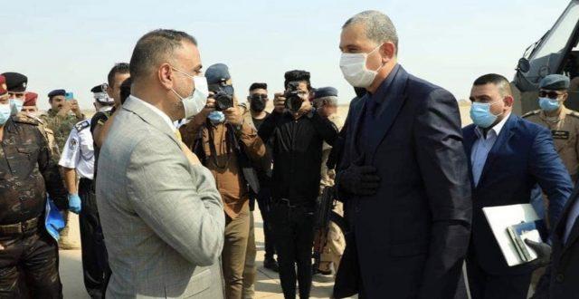 وزير الداخلية يصل محافظة واسط الان