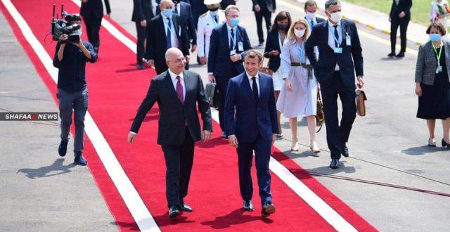 رئاسة الجمهورية تعلن تفاصيل لقاء صالح بماكرون