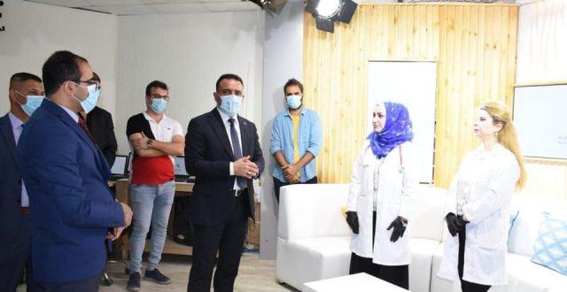 وزير الصحة يؤكد على دعمه للإعلام الصحي