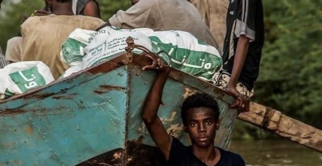 بالصور..الفيضانات في السودان تفتك بارواح البشر وتهدم المنازل