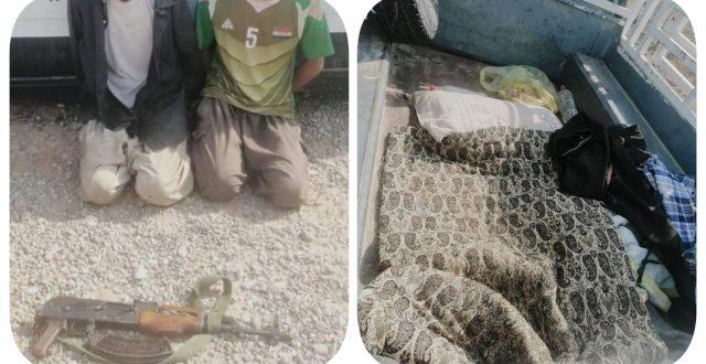 القبض على إرهابيين اثنين ينقلون الدواعش بين المحافظات في كركوك