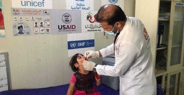 """خلال شهر واحد.. منظمة """"داري"""" الإنسانية تعالج قرابة 120 ألف عراقيا """"صور"""""""