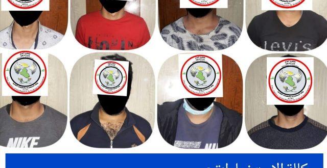 الاستخبارات تعلن القبض على ثمانية إرهابيين عملوا بما يسمى ديوان الجند في محافظة نينوى