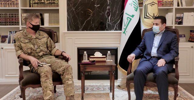 الأعرجي يستقبل نائب قائد التحالف الدولي