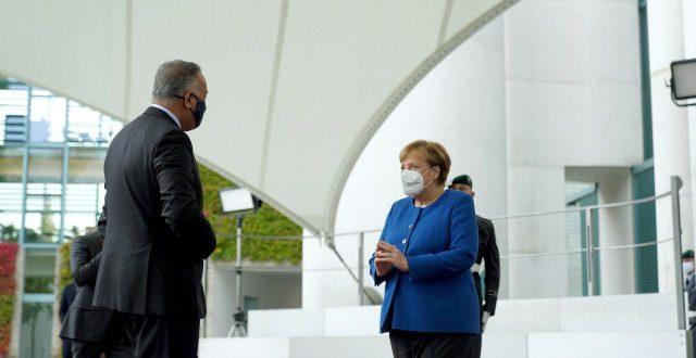 الكاظمي يلتقي في برلين المستشارة الألمانية أنجيلا ميركل
