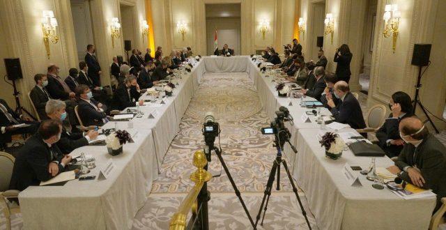 الكاظمي يلتقي عدداً من رؤساء الشركات الفرنسية