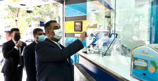 محافظ البنك المركزي يُجري زيارة ميدانية لعدد من شركات الصرافة