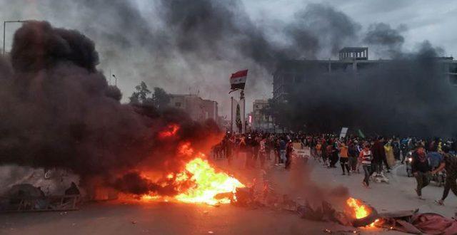 """محافظ ذي قار: ما حصل في ساحة الحبوبي هو """"احتكاك"""" بين المتظاهرين"""