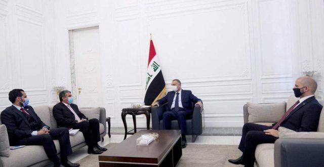 الكاظمي يستقبل السفير الكويتي في العراق