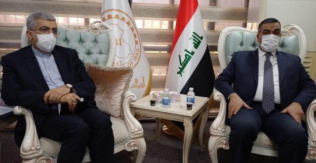 محافظ البنك المركزي يلتقي وزير الطاقة الإيراني