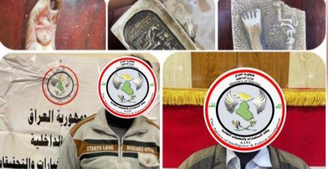بعمليتين مفصلتين.. الاستخبارات تقبض على تاجرين  للقطع الأثرية في محافظتي بغداد و نينوى