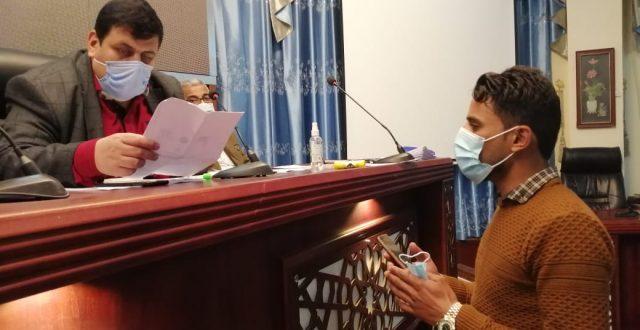 جامعة المثنى تستقبل طلبتها الجدد وتباشر إجراءات التسجيل