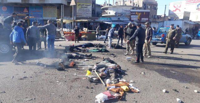 ارتفاع حصيلة تفجيرات بغداد الى 29 شهيداً و74 جريحاً