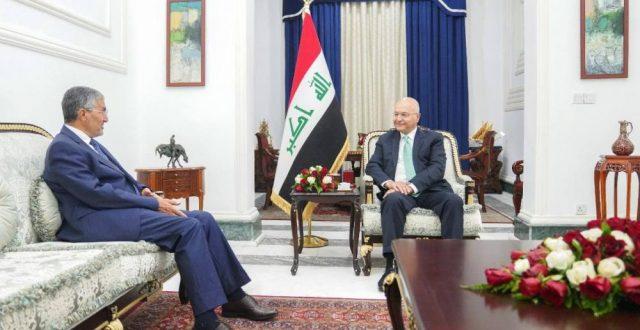 صالح يبحث مع الأمين العام للحزب الإسلامي مستجدات البلاد