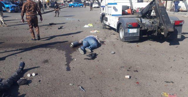 تصريح من اليونامي حول تفجيري ساحة الطيران في بغداد