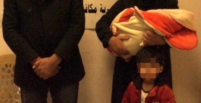 الاستخبارات تعلن القبض على متهمين رجل وامرأة اثناء بيع ولدهم في بغداد