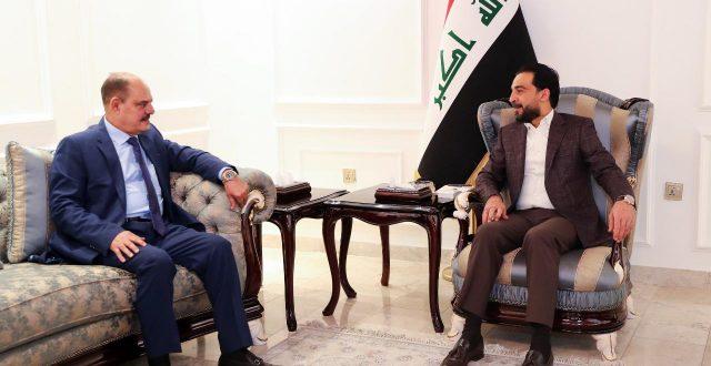 رئيس مجلس النواب يستقبل نقيب الصحفيين العراقيين