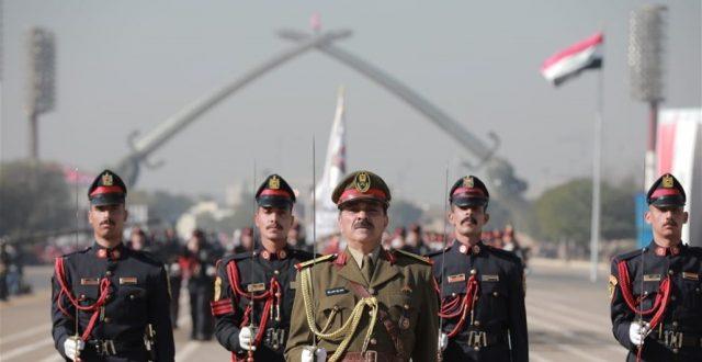 بالصور.. ابطال الجيش العراقي يطفئون شمعتهم الـ100