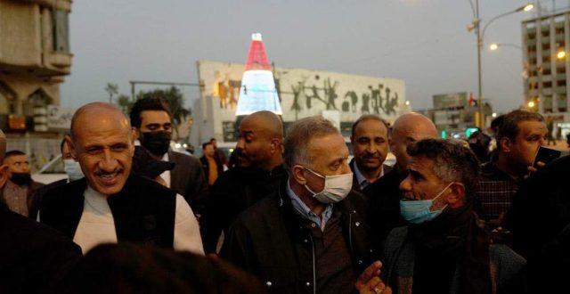 بالصور.. الكاظمي يجري جولة في عدد من شوارع العاصمة بغداد .