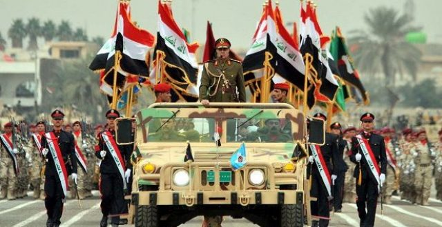 تحالف الدولي يهنئ الجيش العراقي بمئويته الأولى