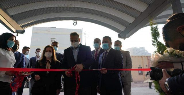 الكاظمي يفتتح البناية الجديدة لدائرة الطب العدلي