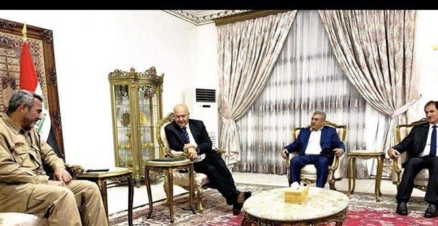 صالح وأبو فدك يؤكدان رفض الاعمال التخريبية وتسلل عصابات داعش