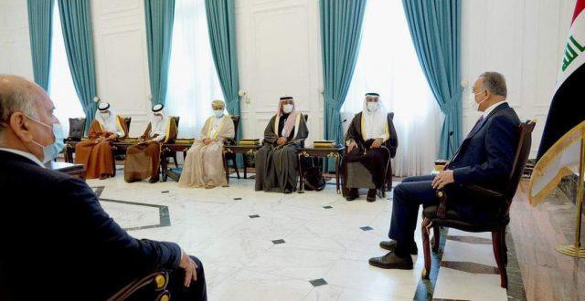 الكاظمي يستقبل الأمين العام لمجلس التعاون الخليجي
