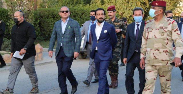 رئيس مجلس النواب يجري جولة تفقدية في أحياء بغداد