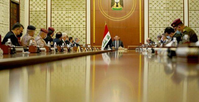 بالتفصيل ماجرى من مناقشات في  اجتماع المجلس الوزاري للأمن الوطني برئاسة الكاظمي