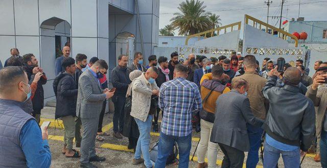 تم افتتاح ديوان محافظة الكوت رسمياً من قبل المتظاهرين