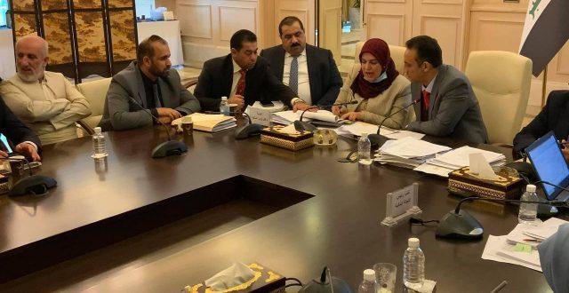 انتهاء اجتماع اللجنة المالية مع طيف سامي وكيل وزارة المالية