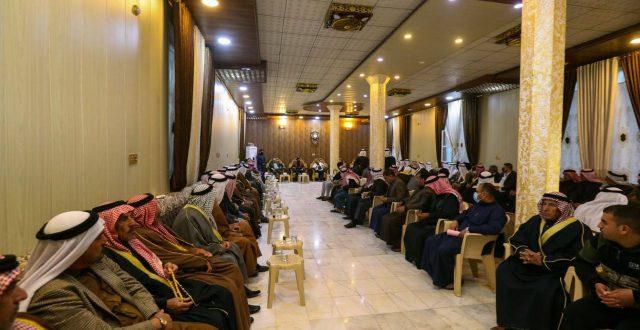 وزيرة الهجرة تعقد مؤتمر صلح عشائري لإنهاء أزمة نازحي ناحية الخالدية