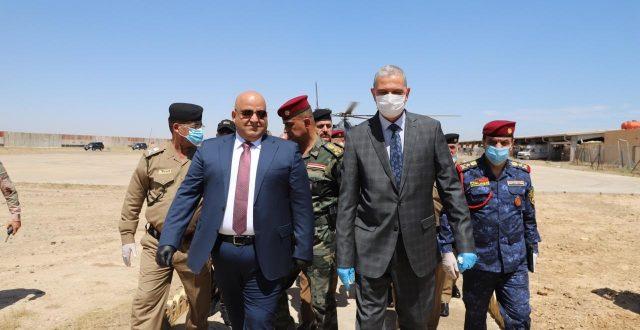 الغانمي: مداولات بشأن مطالب استبدال قطعات عسكرية في صلاح الدين