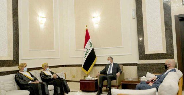 الكاظمي يستقبل سفير سلطنة عُمان لدى العراق