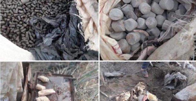 شرطة بابل تعلن العثور على مواد متفجرة وأعتدة شمالي المحافظة