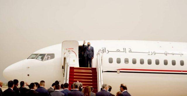الكاظمي يغادر الى المملكة العربية السعودية على راس وفد حكومي