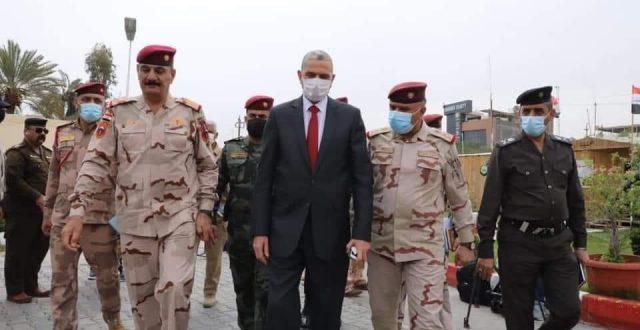 وزير الداخلية يصل كربلاء للإطلاع على خطة زيارة النصف من شعبان