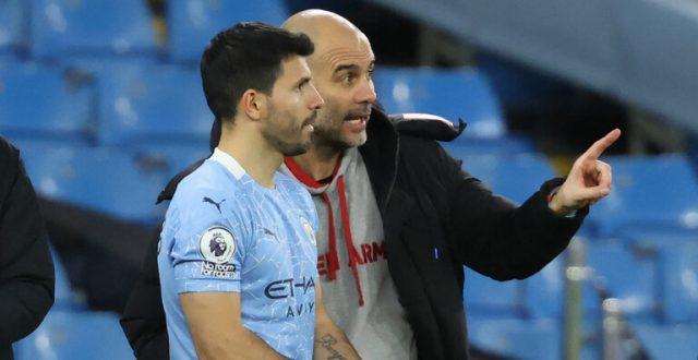 أغويرو يرد على شائعات انتقاله إلى برشلونة