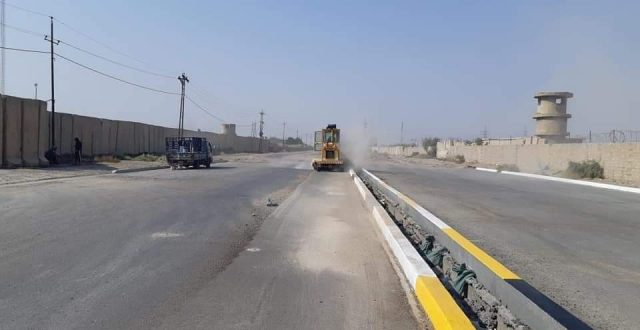 للتخفيف من الزحامات.. فتح طريق مهم جنوبي بغداد