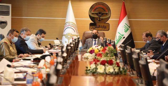 وزارة النقل تعقد اجتماعا مع رئيس هيأة المنافذ لحسم موضوع الترانزيت