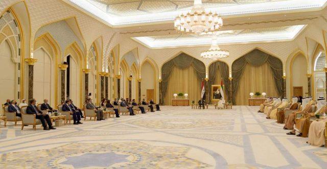 الوفدان العراقي والاماراتي يعقدان اجتماعا موسعا لمناقشة عدد من ملفات التعاون