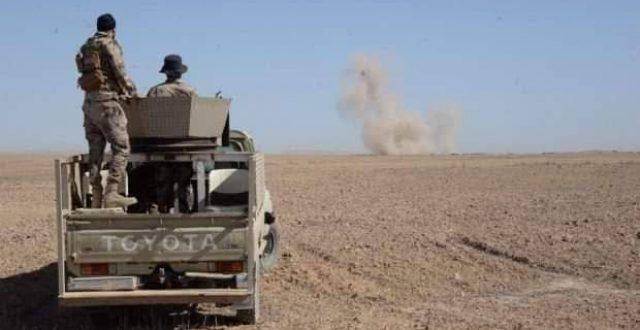 الحشد الشعبي يصد تعرضا لداعش في كركوك